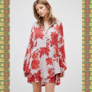 Free People Shake It Mini Dress